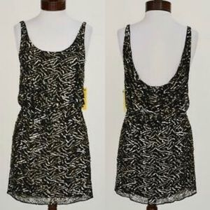 NWT Alice & Olivia Sequined Tank Dress Price Firm